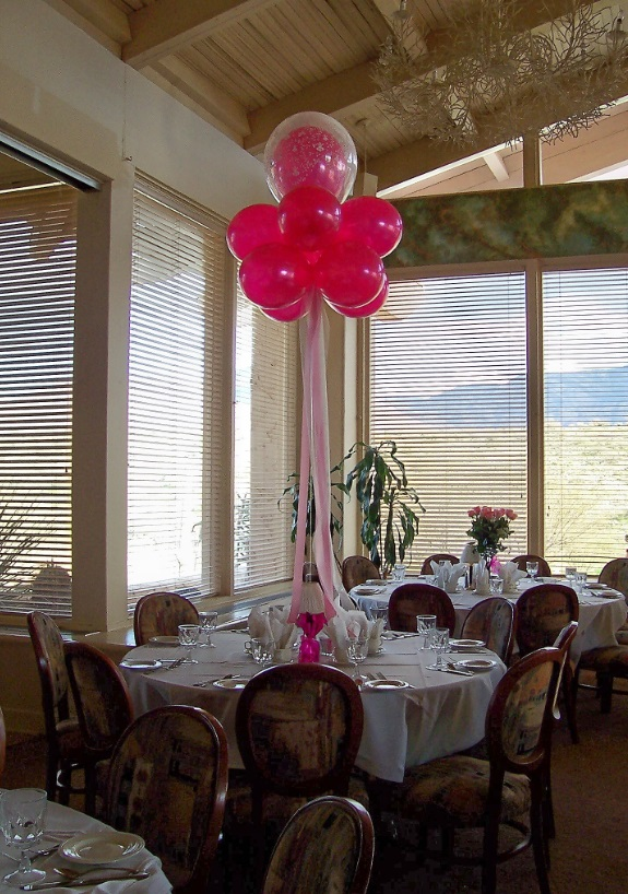Balloon ball centerpieces